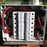 Repaired Water Proof box and fuses